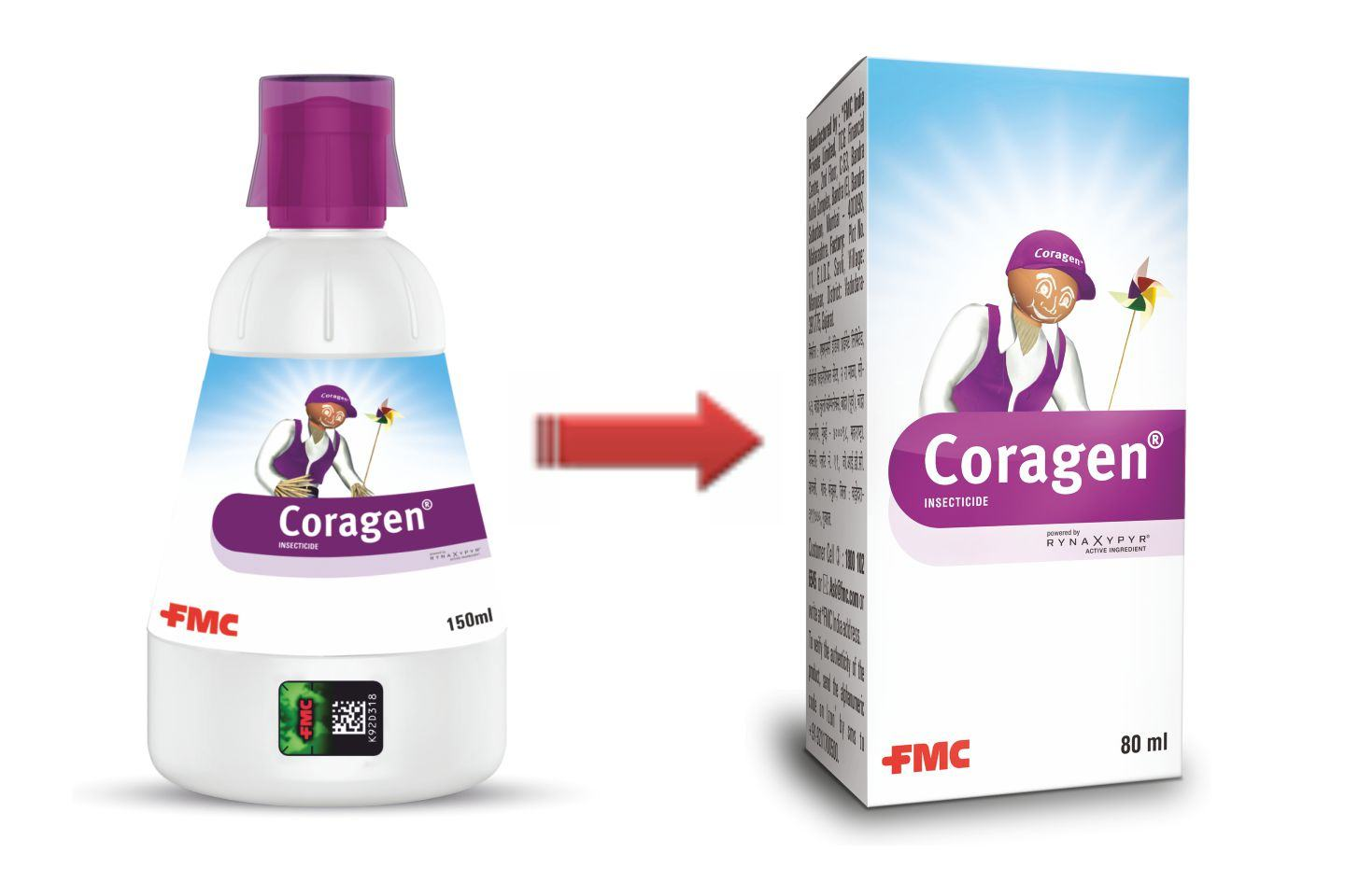 Introduction of 80 ML SKU of Coragen®.