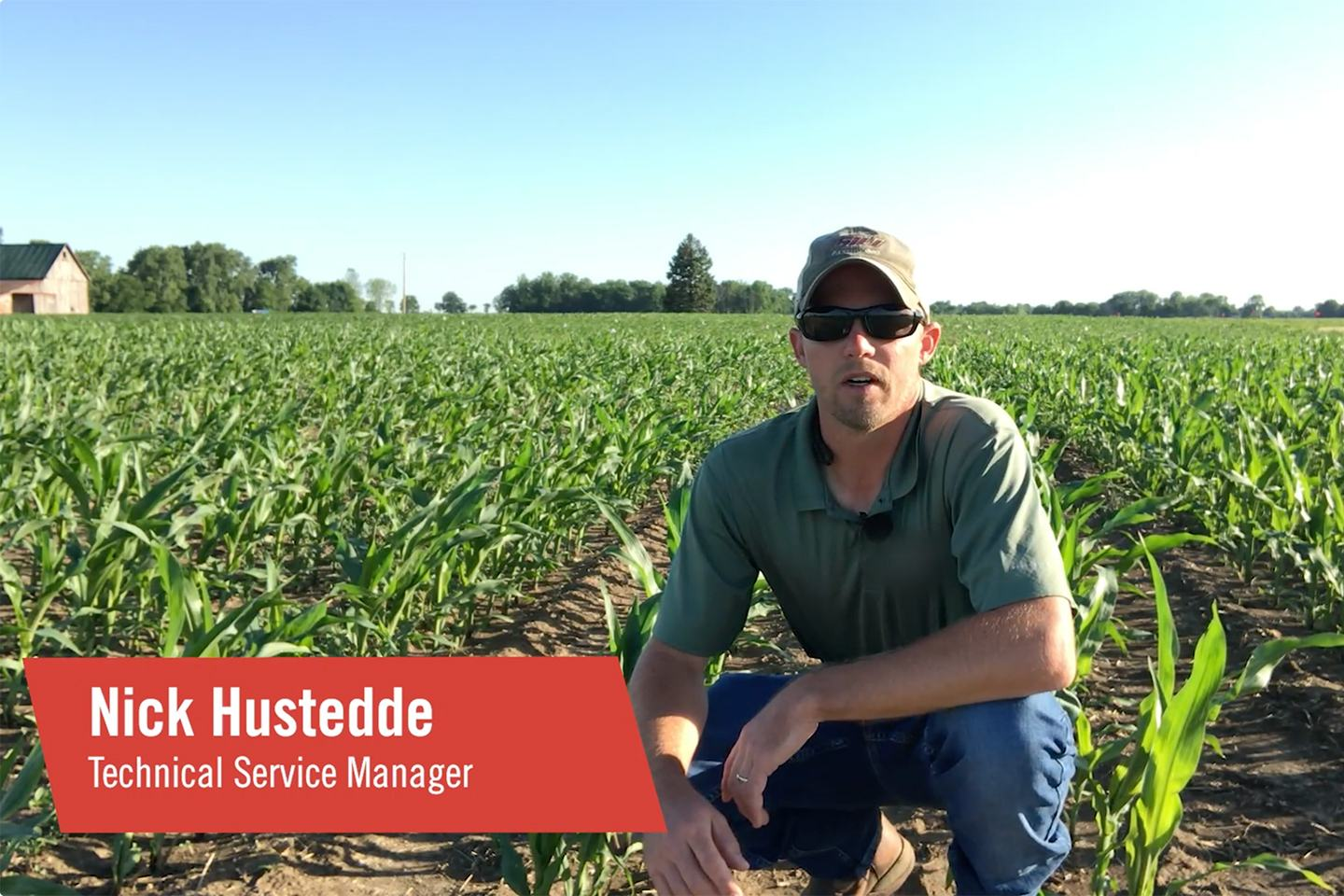 Nick Hustedde, Technical Service Manager