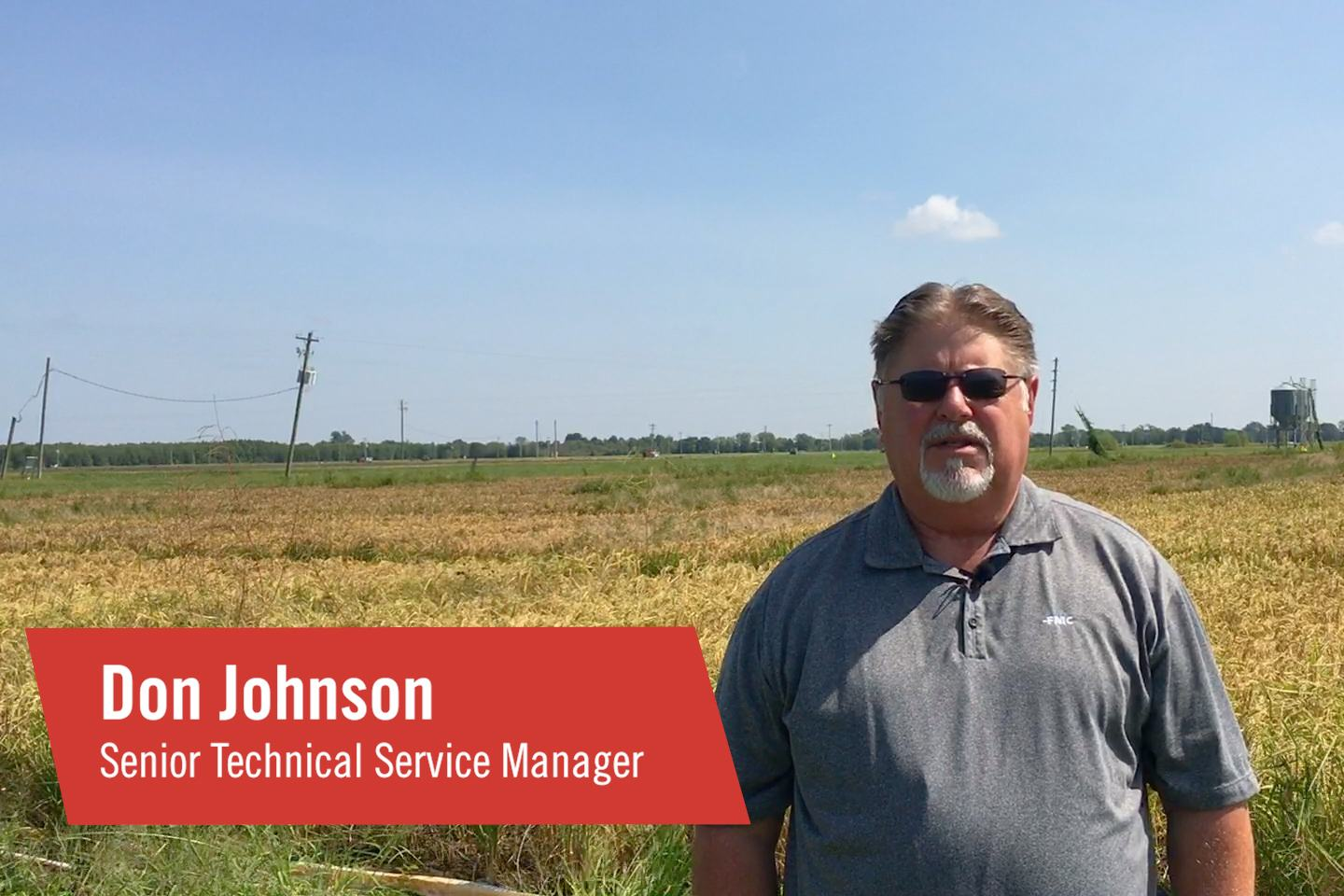 FMC Senior Technical Service Manager Don Johnson explains why Command® 3ME microencapsulated herbicide is the top preemergence herbicide for control of tough weeds like barnyardgrass and sprangletop across the Mid-South.