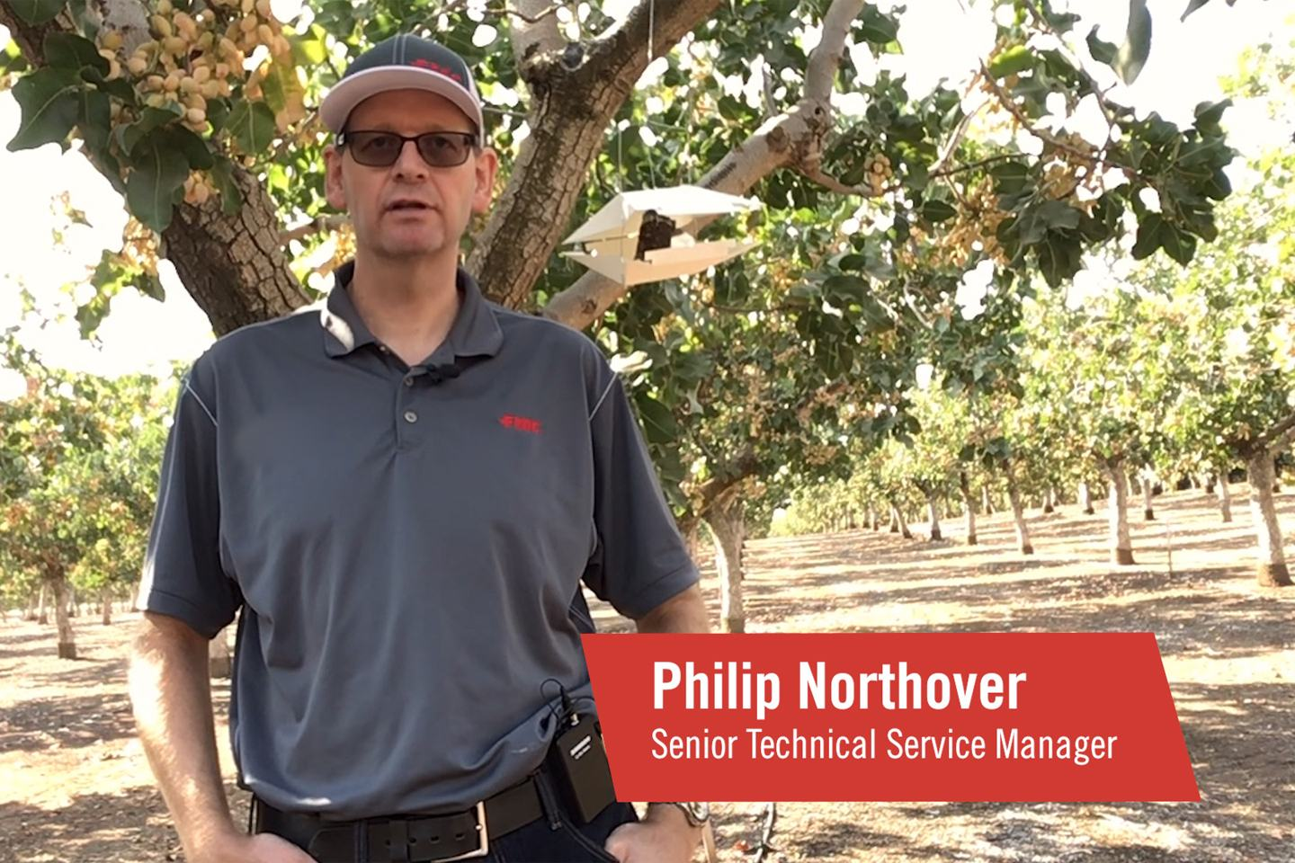 FMC Technical Service Manager Philip Northover shares facts about Navel orangeworm.